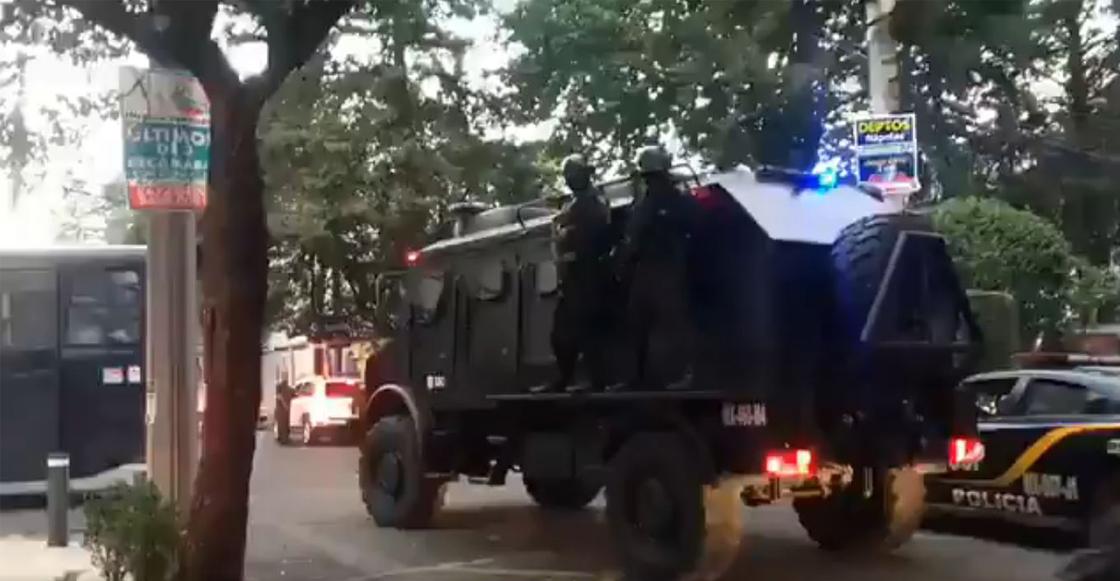 Al menos 30 detenidos tras operativo en la colonia Nápoles por 'delitos financieros'