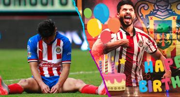 Americanistas festejan el primer aniversario de Oribe Peralta sin gol