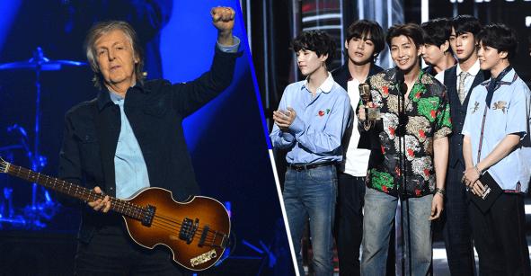 Pa' que les quede el ojo cuadrado: Paul McCartney sabe quienes son BTS y esto es lo que opina de ellos