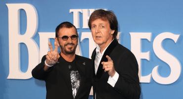 ¡Ringo Starr y Paul McCartney se unen para grabar una rola inédita de John Lennon!