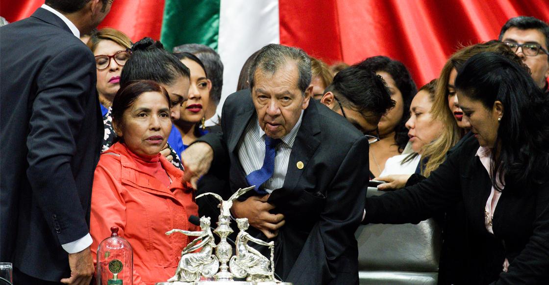 ¡Ohh que! Muñoz Ledo renuncia a la presidencia de la Cámara de Diputados