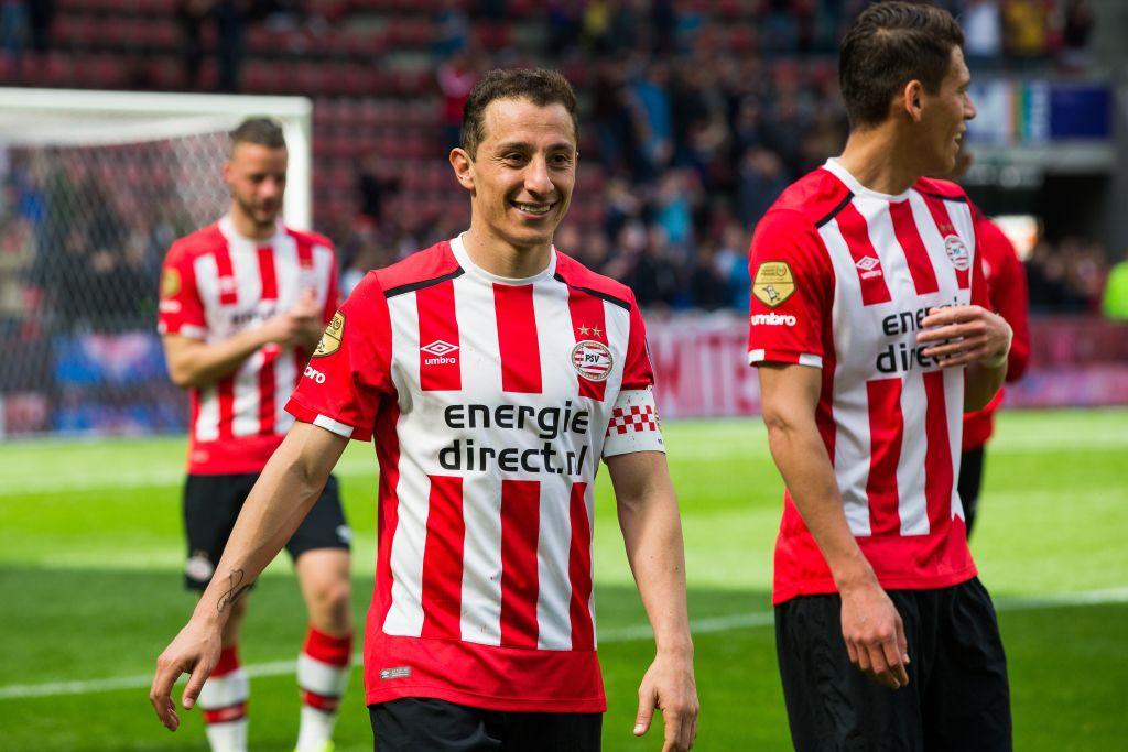 PSV pensó en 'repatriar' a Andrés Guardado en este mercado de fichajes