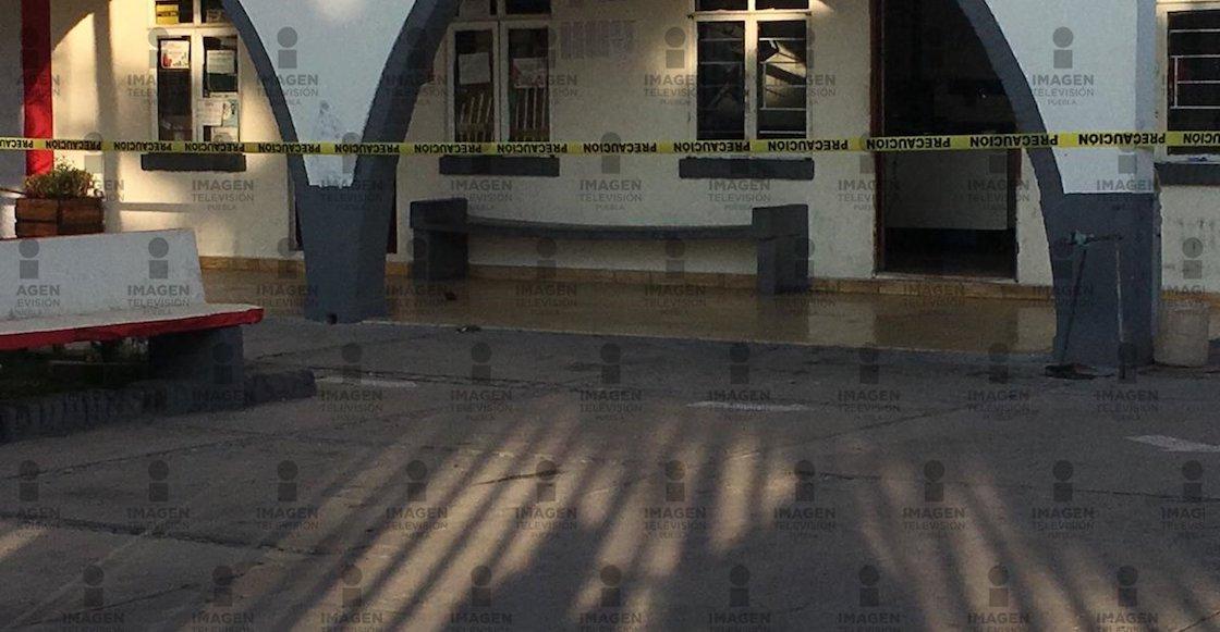 Avientan granada al Palacio Municipal de Tochtepec, Puebla