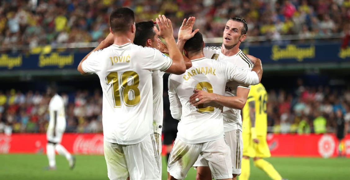 ¡El héroe! Gareth Bale rescató al Real Madrid de perder ante el Villarreal