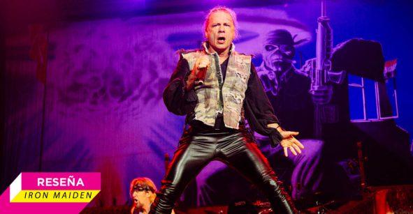 El legado de la bestia: Iron Maiden en el Palacio de los Deportes