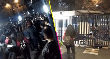 ¡Zas! Cierran la FCPyS de la UNAM en protesta por presencia de Ricardo Anaya