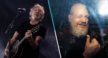 "Roger Waters toca ""Wish You Were Here"" en apoyo a Julian Assange"
