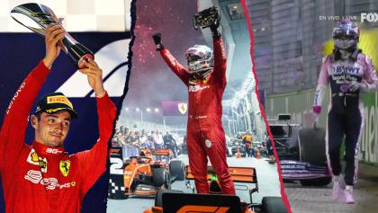 El triunfo de Vettel, el abandono de Checo y el enojo de Leclerc: Lo que dejó el GP de Singapur