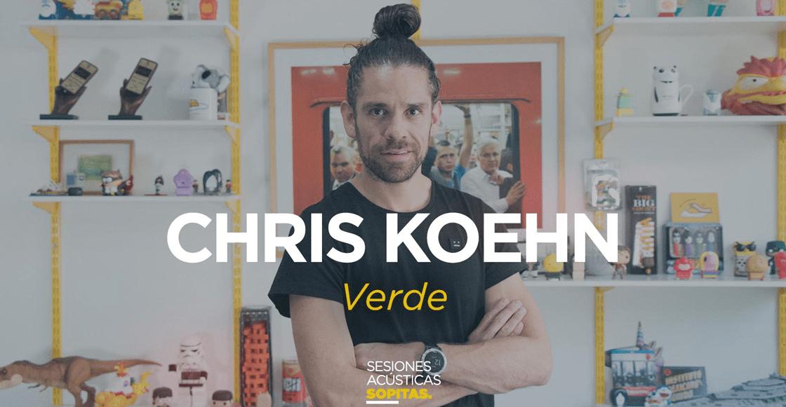 Sesiones Acústicas en Sopitas.com presenta: Chris Koehn