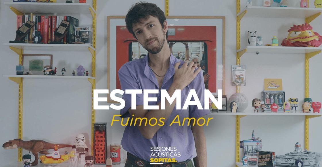 Sesiones Acústicas en Sopitas.com presenta: Esteman