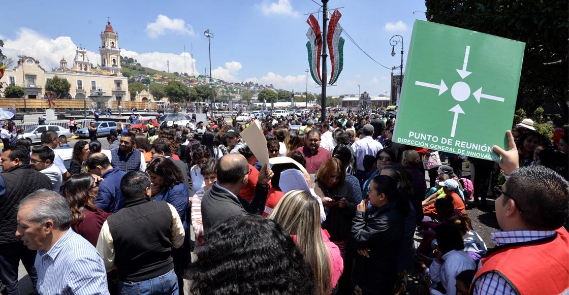¿Cuándo, dónde y a qué hora será el #MacroSimulacro2019 en México?
