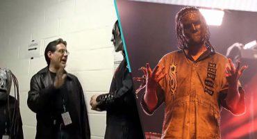 Ayñ ❤️ Baterista de Slipknot recrea la foto de cuando conoció a la banda de niño