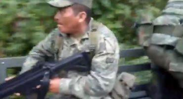 ¿Abrazos, no balazos? Soldados son emboscados en Guerrero y atacan a Guardia Nacional en Chiapas