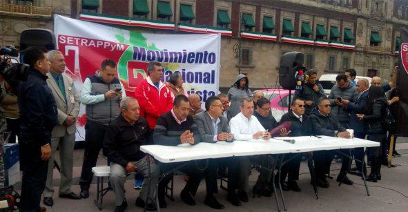 Va de nuez: Taxistas realizarán movilización el 7 de octubre en la CDMX