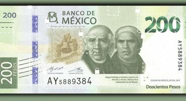 Conoce todos los detalles del nuevo billete de 200 pesos