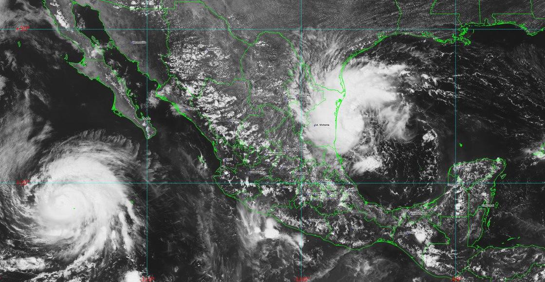 "Se formó la tormenta tropical ""Fernand"" frente a las costas de Tamaulipas"