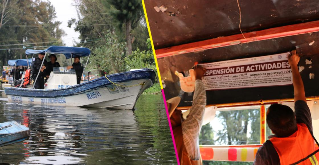 Por irregularidades sancionan a 49 trajineras en Xochimilco