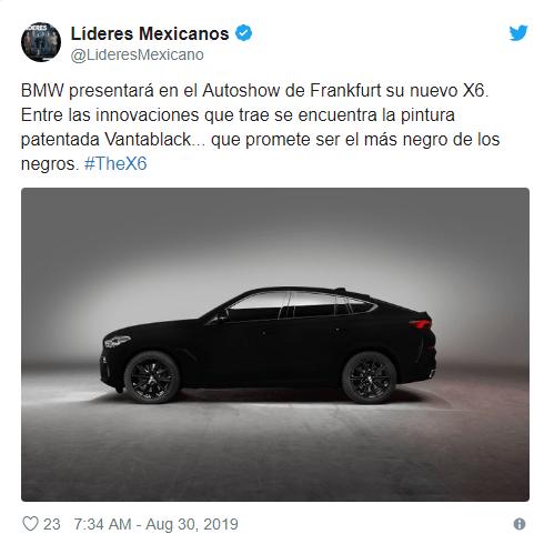 BMW utiliza pintura espacial para crear el auto más negro del mundo