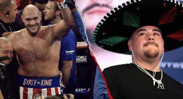 Tyson Fury lanzó amenaza contra Andy Ruiz: 'le ganaría con una mano atada a la espalda'