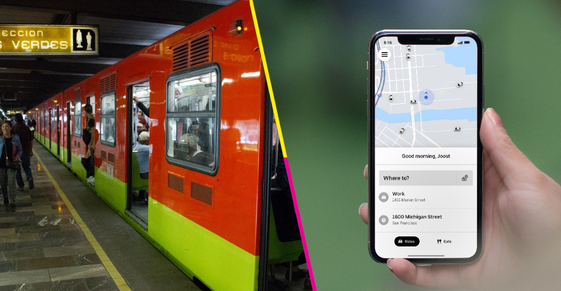 Uber Transit: Uber integra los sistemas de transporte público de la CDMX en su app