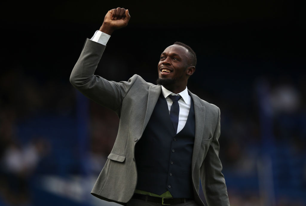 Usain Bolt eligió a los 3 futbolistas con los que correría una carrera de relevos 4x100