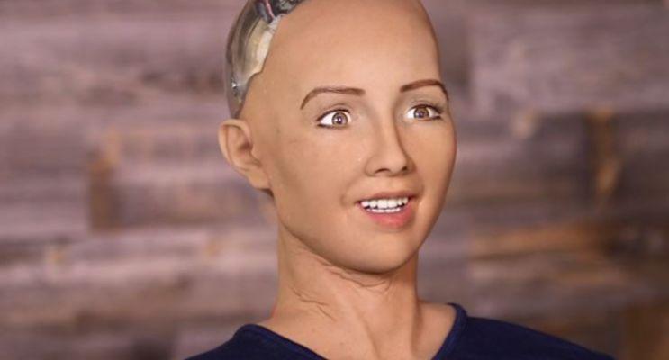 La robot Sophia se declara fan de México y de los tacos al pastor