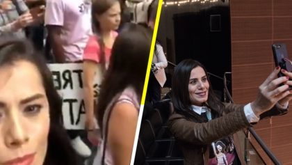 Senadora de Movimiento Ciudadano se va a protestar a NY contra cambio climático y a tomarse la selfie con Thunberg