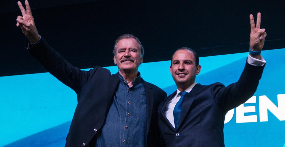 Vicente Fox llama a las fuerzas políticas de la oposición para