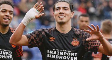 ¡Erick Gutiérrez se estrenó en la Eredivisie y sentenció la goleada del PSV!