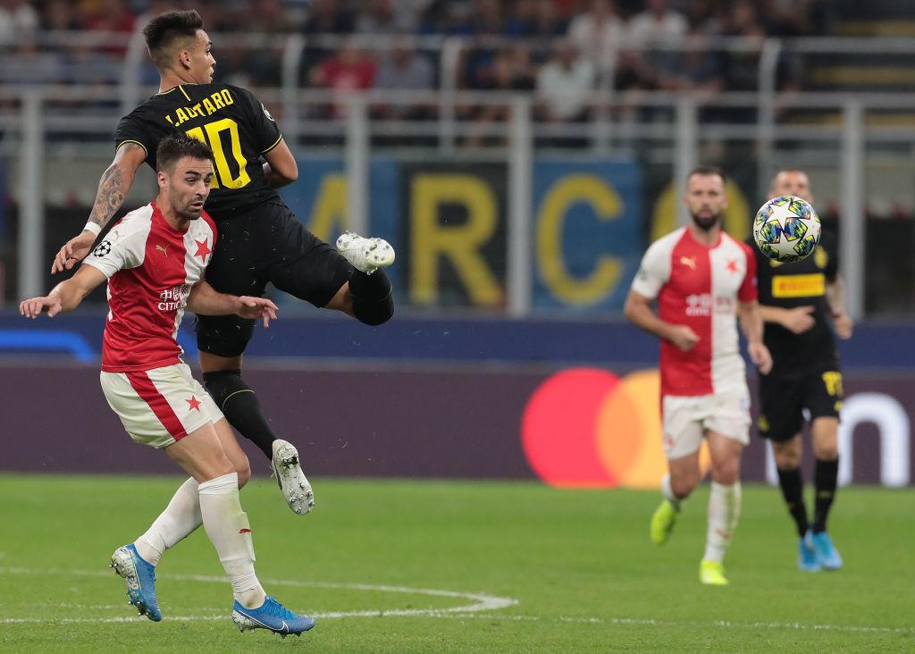 El histórico gol con el que Slavia Praga venció al Inter en Italia