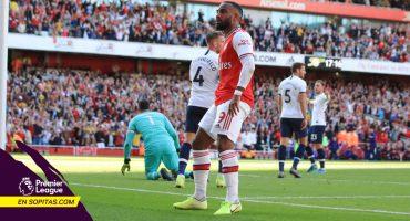 ¡Partidazo! Arsenal le remontó al Tottenham en el Derbi del Norte de Londres
