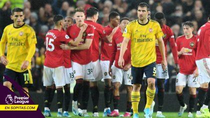 Aubameyang rescató el empate para el Arsenal y extiende la 'crisis' del United