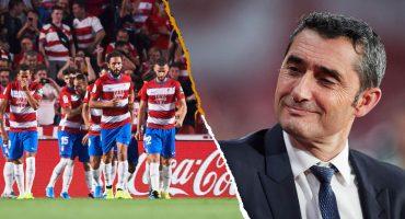 #ValverdeOut: Granada derrotó con autoridad al Barcelona con todo y Messi