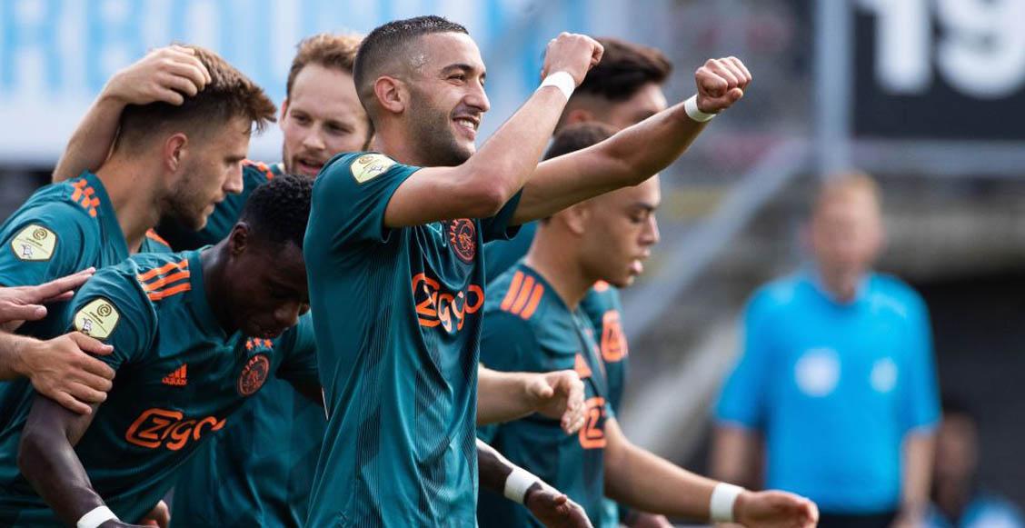 Edson Álvarez fue titular indiscutible en la victoria del Ajax sobre Sparta Rotterdam