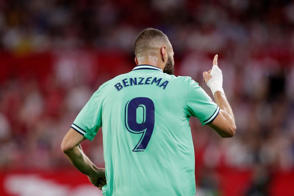 El cabezazo de Benzema con el que Real Madrid venció al Sevilla a domicilio