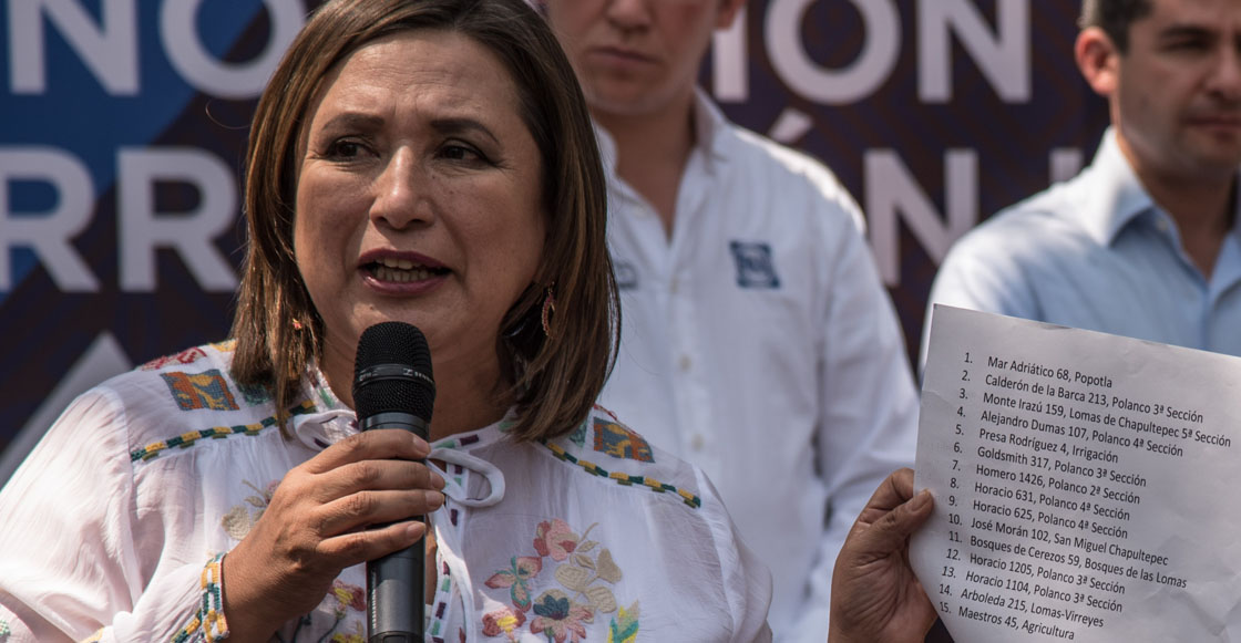 ¿Por qué la senadora del PAN Xóchitl Gálvez es tendencia como #LadyCaca?