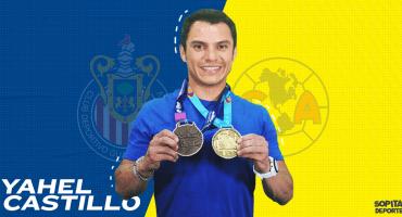 ¡Hablando del clásico! Yahel Castillo, el clavadista fan del América, pero que pudo jugar para Chivas