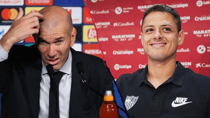 """Críticas a Zidane previo al juego ante el Sevilla de 'Chicharito': """"No está capacitado"""""""