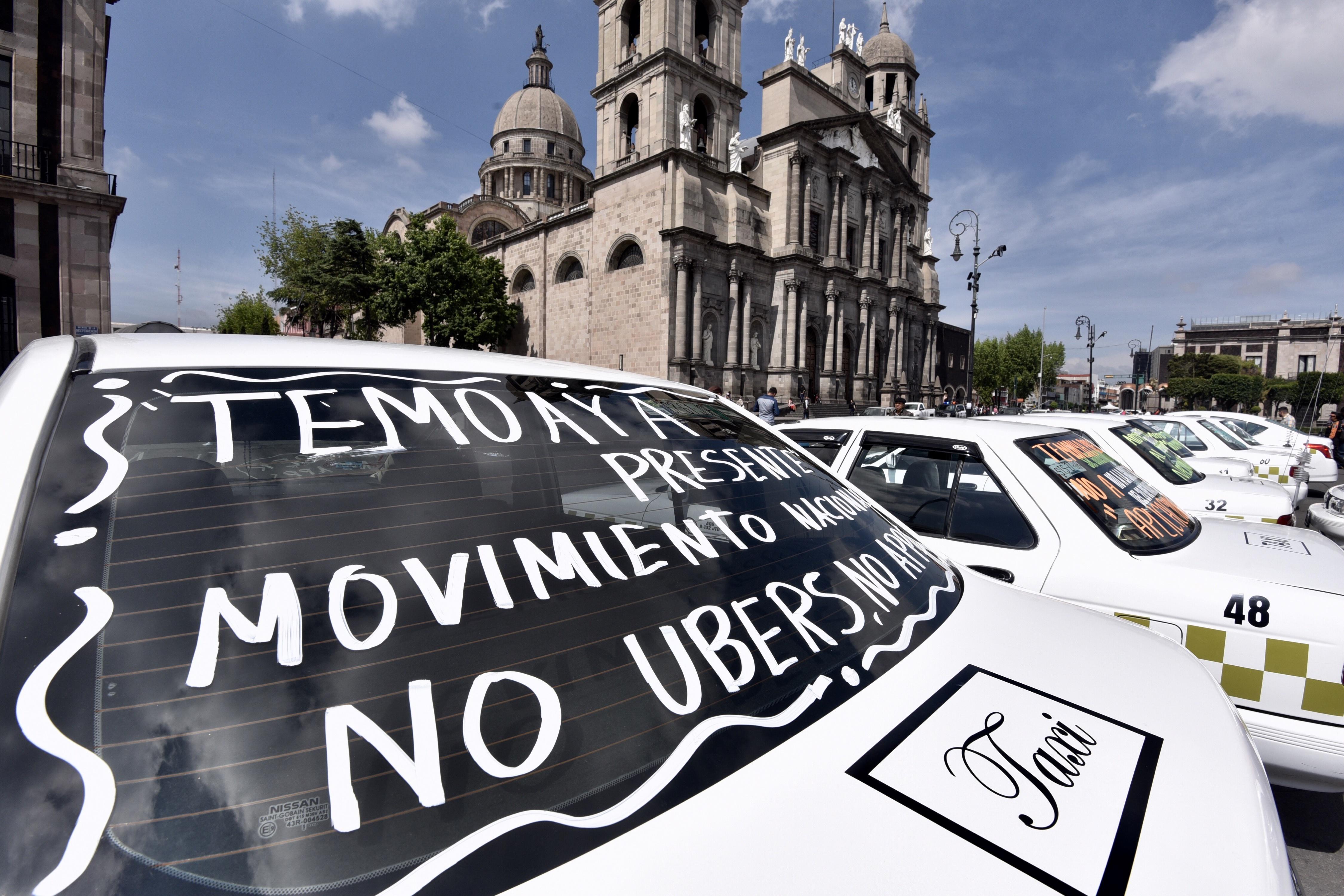 Here we go again: Taxistas harán marcha el próximo lunes 7 de octubre en la CDMX