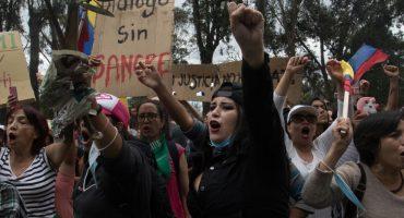 ¡Acusados de terrorismo! Manifestantes detenidos en Ecuador podrían enfrentar penas de hasta 13 años