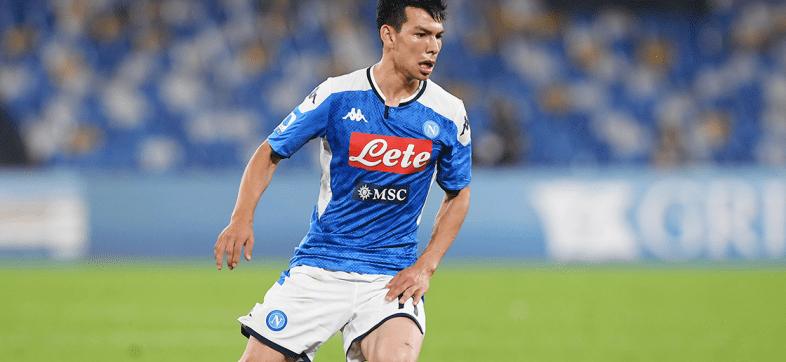 No pasó del 6: Así calificaron en Italia al 'Chucky' Lozano tras el Napoli-Atalanta