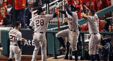 ¡Por fin! Astros se llevan el Juego 3... ¡y tenemos Serie Mundial!