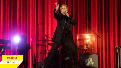 Los héroes existen: Así estuvo el concierto de Billy Idol en el Palacio de los Deportes