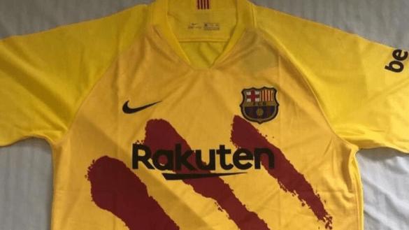En plena 'protesta', Barcelona lanzaría jersey con las cuatro barras de Cataluña