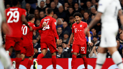 Los 3 golazos con los que el Bayern derrotó al Tottenham en la Champions