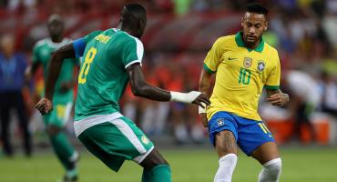 Brasil empató con Senegal en el partido 100 de Neymar