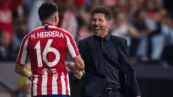 """""""Un futuro enorme"""": 'Cholo' habló de la falta de minutos de Héctor Herrera"""