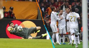 ¡Extra, extra! Courtois guió la victoria del Real Madrid ante el Galatasaray