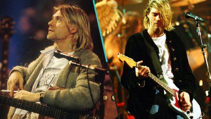 ¡A sacar la morralla! Subastarán la guitarra y otros artículos de Kurt Cobain