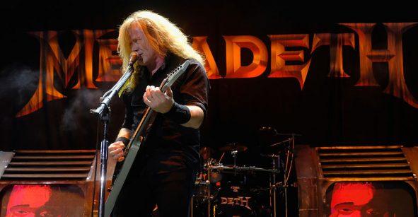 Dave Mustaine de Megadeth venderá sus guitarras y más equipo icónico de su carrera